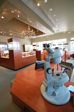 Policies - inside view of Wright's Jewelers